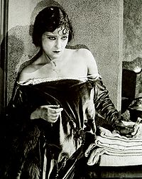 "Gloria Swanson in a production still from the 1920 film ""Why Change Your Wife."""
