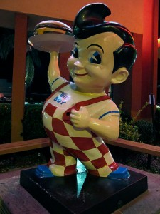 """I'll have fries with my burger,"" says Bob's Big Boy. Photo by: Jennifer Cachola"
