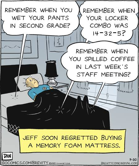 Brevity by Dan Thompson at gocomics.com